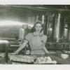 New York World's Fair - Employees - Waitress at counter