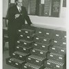 New York World's Fair - Employees - Man with key cabinets