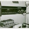 New York World's Fair - Employees - Bakers - Baker removing bread from oven