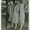 New York World's Fair - Employees - Females - Women in Banking Department looking in mirror