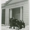 New York World's Fair - Employees - Females - Snow Battle - Women in front of North Carolina Building