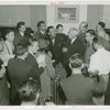 New York World's Fair - Employees - Gibson, Harvey (Chairman of Board) - At meeting announcing Gibson as Chairman