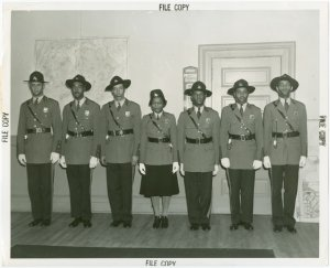 New York World's Fair - Employees - Police - Policemen and policewoman