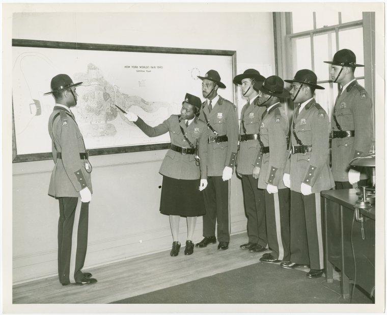 New York World's Fair - Employees - Police - Policemen and policewoman