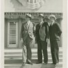 North Carolina Participation - Officials on Administration Building steps