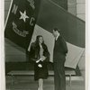 North Carolina Participation - Betty Huneycutt (Miss North Carolina) and exhibit manager