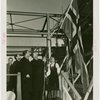 Norway Participation - Grover Whalen and Wilhelm Morgenstierne at roof-raising ceremony