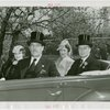 Norway Participation - Prince Olav and Princess Martha - In car with Grover Whalen