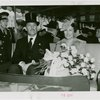 Norway Participation - Prince Olav and Princess Martha - With Grover Whalen on train