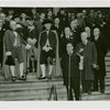 Opening Day - 1939 Season - Fiorello LaGuardia, men in costume and officials