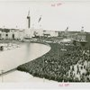 Opening Day - 1939 Season - Lagoon of Nations and crowd