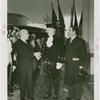 Opening Day - 1939 Season - Washington impersonator, Herbert Lehman (Governor) and Grover Whalen