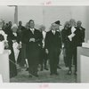 Opening Day - 1939 Season - Grover Whalen, Herbert Lehman (Governor) and men in costume