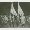 Parades - Carrying flags