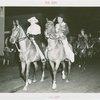 Parades - Fiorello LaGuardia and Grover Whalen on horseback