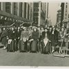 Parades - Street Cleaning - Women sweep street