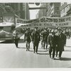 Parades - Street Cleaning - Harvey Gibson, Fiorello LaGuardia march down Broadway