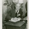Pennsylvania Participation - Cornelius Scully (Mayor of Pittsburgh) signs guestbook