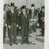 Pennsylvania Participation - Governors - Governor Arthur H. James with daughter and Dennis E. Nolan