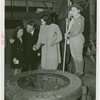 Petroleum - Fiorello LaGuardia with Kitty Carlisle and kids at dedication