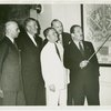 Petroleum - Grover Whalen, officers and incorporators look at map