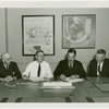 Petroleum - Grover Whalen and oil industry officials at contract signing
