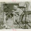 Pony Express Exhibit - Drawing