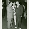 Press Events - Associated Press - Grover Whalen and man shaking hands