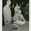 Puerto Rico Participation - Blanton Winship (Governor General) signing guest register