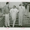 Puerto Rico Participation - Fiorello LaGuardia, Blanton Winship (Governor General), and Admiral William D. Leahy