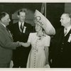 Puerto Rico Participation - Officials with woman in hat