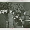 Radio Corporation of America (RCA) - Group at dedication inspecting television