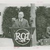 Radio Corporation of America (RCA) - David Sarnoff (President of RCA) dedicating building