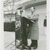 Radio Corporation of America (RCA) - Official speaking at dedication
