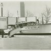 Radio Corporation of America (RCA) - Yacht in front of Radiomarine Corporation of America sign