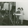 Radio Corporation of America (RCA) - Woman and girl being filmed for television