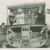 Railroads on Parade - Group in costume on carriage