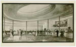 Restaurants - Sketch of Casino of Nations