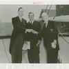 Rhode Island Participation - Governor Vanderbilt, Grover Whalen, and Royal B. Parnum (Governor of the Rhode Island New York World's Fair Commission)