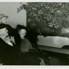 Roosevelt (Franklin Delano and family) - Sarah Delano Roosevelt with woman and guide