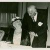 Roosevelt (Franklin Delano and family) - Sarah Delano Roosevelt with Edward J. Flynn (U.S. Commissioner to the World's Fair)