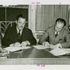Russia (USSR) Participation - Grover Whalen and official signing contracts