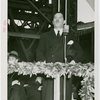 Russia (USSR) Participation - Grover Whalen giving speech at ceremony