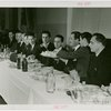 Russia (USSR) Participation - Group passing food at table