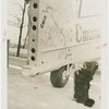 Russia (USSR) Participation - Airplanes - Tail of Trans-polar airplane with dog