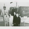 Russia (USSR) Participation - Airplanes - Group in front of exhibit