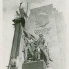 Russia (USSR) Participation - Building - Joe the Worker statue, Lenin quotation