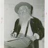 William Sauter as Walt Whitman