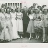 Special Days - Mayor Hetrich, Tulip Queen, and group at Asbury Park Day