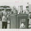 Special Days - James Mead (New York Senator) addresses crowd at Federal Employees Day
